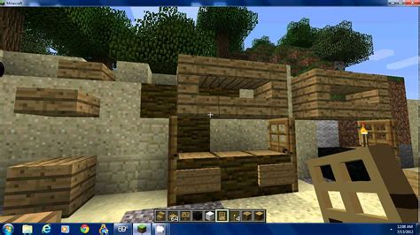 How Do You Make A Desk In Minecraft by How To Make A Computer Desk In Minecraft