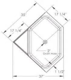 Corner Tub Dimensions Bathtub Shower Dimensions 171 Bathroom Design