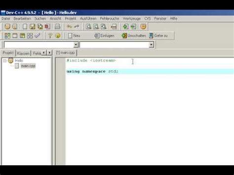 tutorial c deutsch how to download dev c doovi