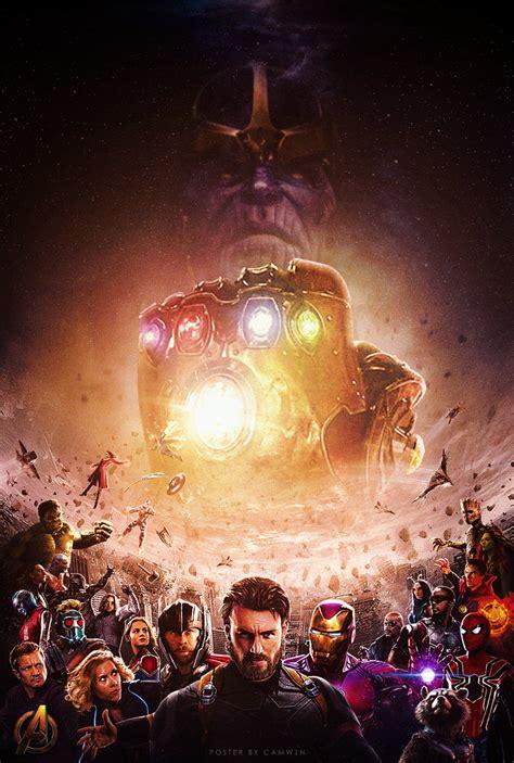 infinity war cool fan made poster for infinity war geektyrant