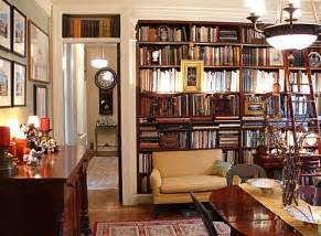 New Home Library Design Ny Style Apartments