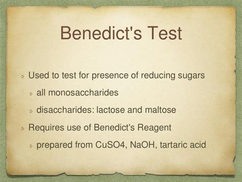 Stool Test For Reducing Substances by Carbohydrates 101