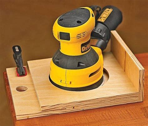 random orbital sander  woodworking tool guide