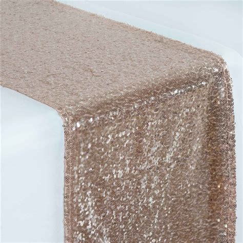 blush sequin table runner tablecloths chair covers table cloths linens runners