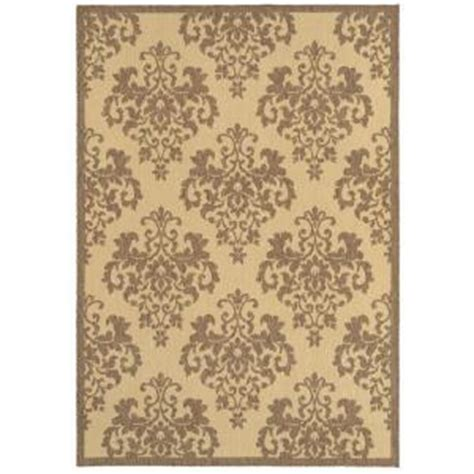 Shaw Area Rugs Home Depot with Shaw Living Lilly Driftwood 5 Ft X 7 Ft 6 In Indoor Outdoor Area Rug
