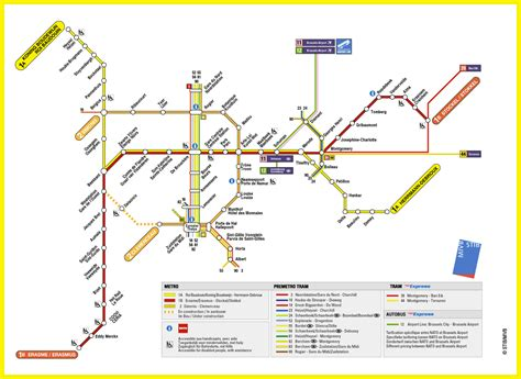 transport map brussels maps of brussels detailed map of brussels in