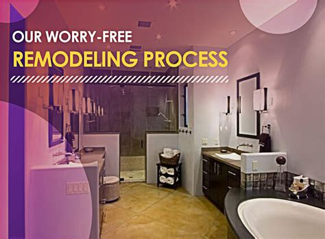our worry free remodeling process