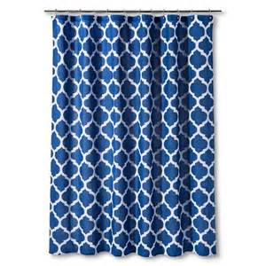 threshold shower curtain blue space dye lat target