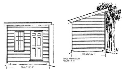 beginner storage shed plans