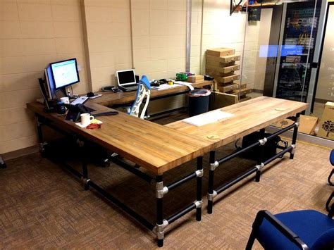 butcher block office desk u shaped butcher block desk butcher block desk butcher