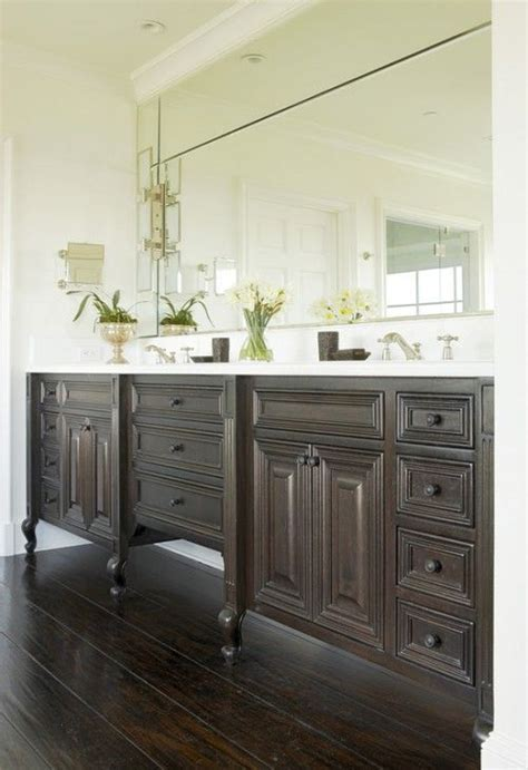 Love The Use Of Quot Furniture Quot As Bathroom Vanities Also I Furniture Like Bathroom Vanities