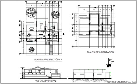 building floor plan detail and elevation view detail dwg file architectural plan of house with section and elevation