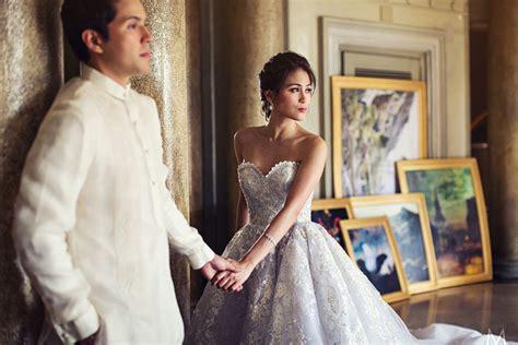 alex wilson in white dress sends wedding wishes to toni gonzaga