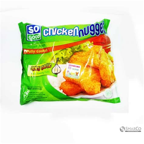 So Chicken Nugget Nuget Ayam 250gr Bonus So Sosis 75gr detil produk so chicken nugget spicy grlic pack 1017140060072 8993110040627 superstore the