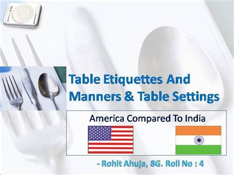 Dining Table Etiquette Ppt Table Manners Etiquettes And Table Setting Authorstream