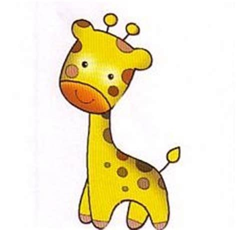 imagenes de jirafas bebes en caricatura moldes y figuras de sucha foami jirafitas