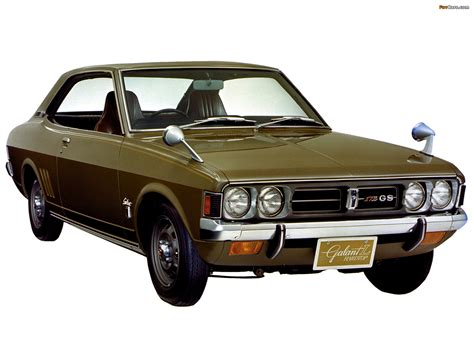 Mitsubishi Colt Galant Coupe I 1970 73 Pictures 1600x1200