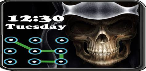 skull pattern lock screen skull pattern screen lock amazon ca appstore for android