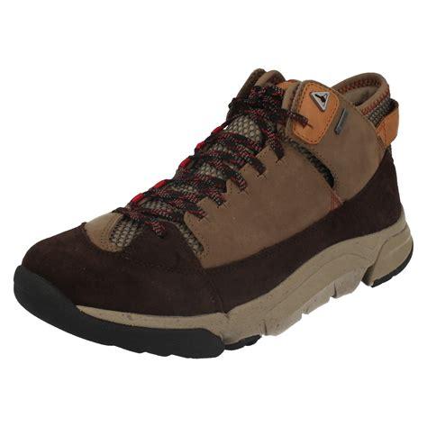 mens tex boots mens clarks outdoor tex boots tri outflex gtx ebay