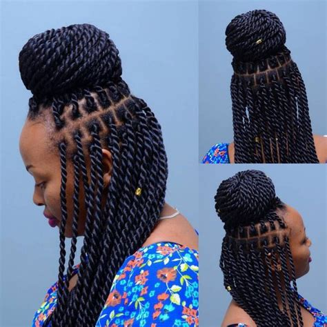 Pictures Of Senegalese Twist Hairstyles by Senegalese Twist Hairstyles Senegalese Twist Updo