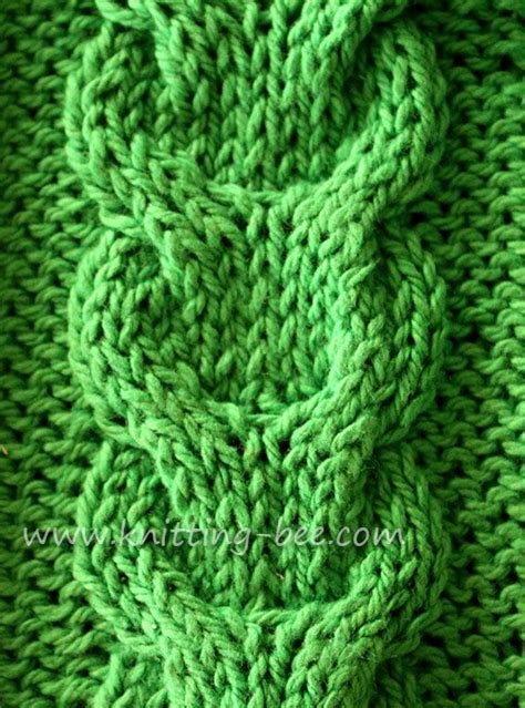 knitting tutorial website free link cable knitting stitch pattern the site has a