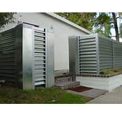 Corregated Steel Fence  Modern Orange County By MARK