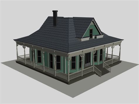 house projects free housing project realistic suburb house 3ds 3d studio software architecture objects