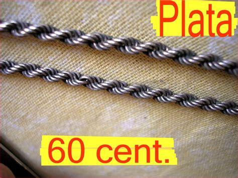 cadena plata 925 tourbillon gruesa 60 cent no pulsera oro - Cadenas De Plata Tourbillon