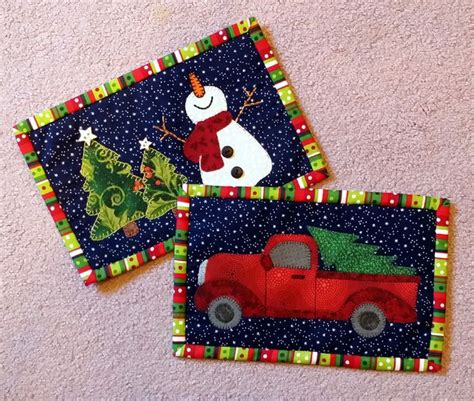 christmas tree mug rug pattern lots of christmas mug rug patterns pinteres