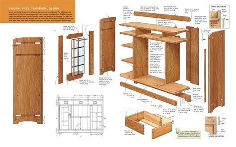 how to present woodworking plans in layout layout