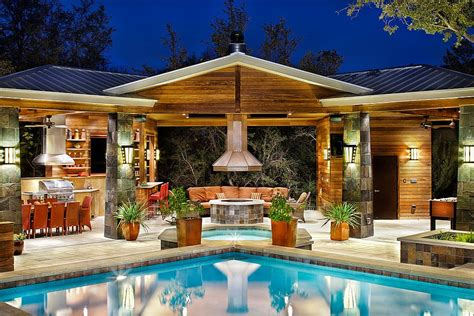 backyard pool houses 25 pool houses to complete your dream backyard retreat