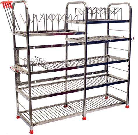 Stainless Steel Kitchen Rack Buy maharaja stainless steel kitchen rack price in india buy