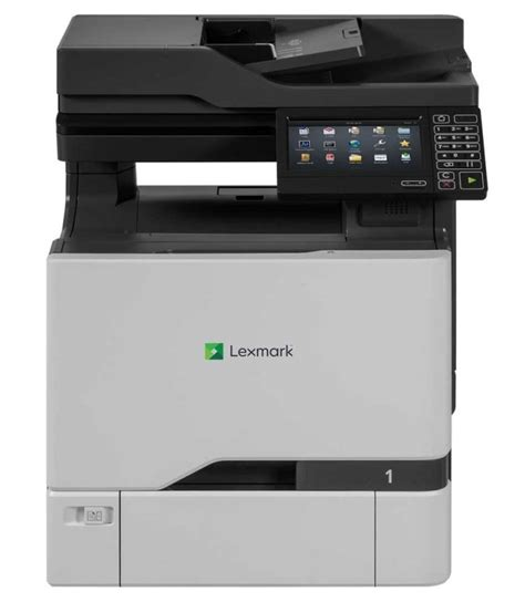 color multifunction laser printer lexmark cx727de multifunction colour laser printer