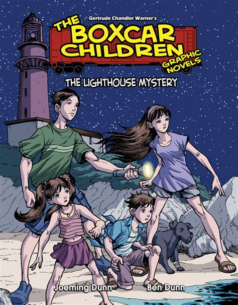 the mystery a graphic novel the lighthouse mystery graphic novel albert whitman
