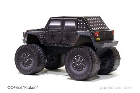 jeep kraken model completed the cop4x4 kraken 171 papercruiser com