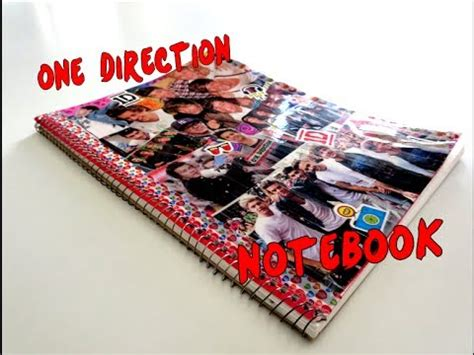Notebook Buku One Direction how to make a one direction notebook
