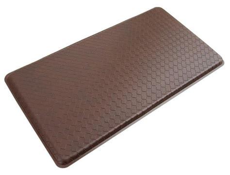 anti fatigue floor mat cushioned gel kitchen mat     truffle brown  ebay