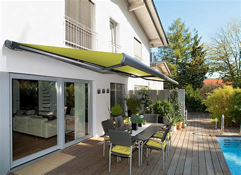 markise elektrisch retractable awnings for home buisness many design options