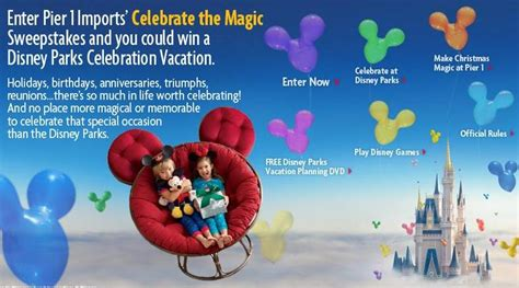 Pier 1 Sweepstakes - pier 1 imports celebrate the magic sweepstakes
