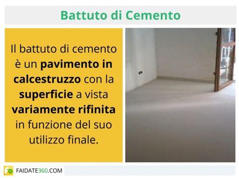 pavimento in battuto di cemento battuto di cemento come si fa realizzazione per interni