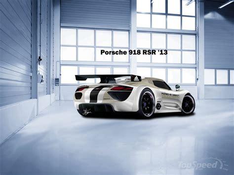 porsche 918 rsr spyder porsche unveils spyder hybrid 918 rsr