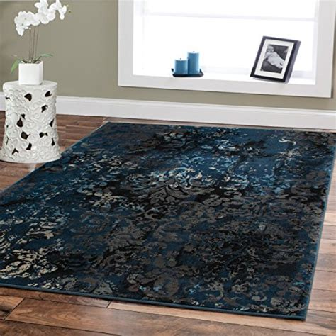 Safavieh Round Rugs Large Premium Soft Luxury Rugs For Living Rooms 8 215 11 Navy