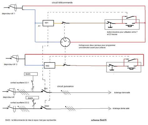 Schema De Commande Eclairage by Questions R 233 Ponses Forum 233 Lectricit 233 Sch 233 Ma Pour Installer
