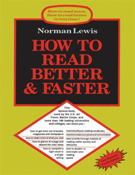 read better how to read better faster 4th edition buy how to read