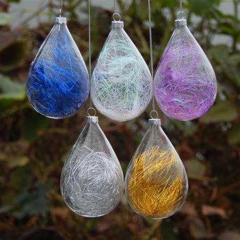 popular clear glass christmas ball buy cheap clear glass