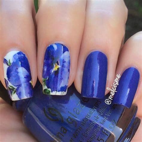 imagenes de uñas acrilicas azul rey unas color azul rey 6 curso de organizacion del hogar