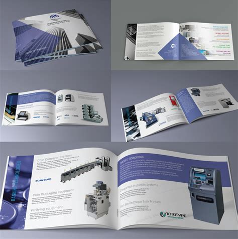 company profile unique design elegant professional catalogue design for national office