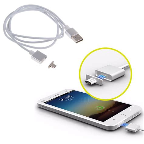 Usb Cable Samsung 2 4a micro usb magnetic adapter data charger cable for