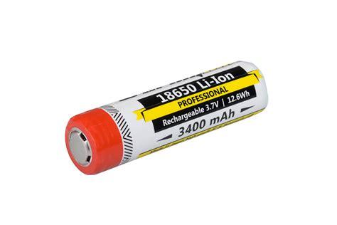 Varicore 18650 Rechargeable Li Ion Battery 3400mah 3 7v Button Top armytek 18650 li ion battery 3400mah