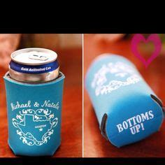 Best Day Ever Customized Wedding Koozies Perfect by